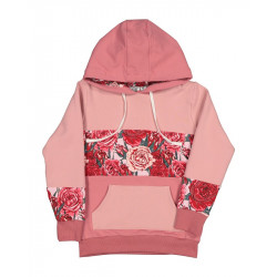 Kissed by Radicool | KR1426 ROSES STACK HOOD