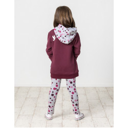 Kissed by Radicool | KR1447 BOYSENBERRY ZIP HOOD