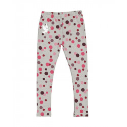 Kissed by Radicool | KR1451 WINTER BERRY MINI POLKA DOT LEGGING