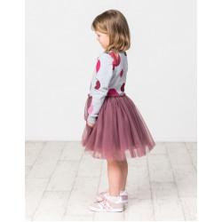 Kissed by Radicool | KR1449 WINTER BERRY POLKA DOT TUTU