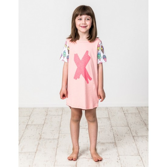 Kissed by Radicool  ICE CREAM LOVE TEE DRESS
