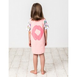 Kissed by Radicool  ICECREAM LOVE TEE DRESS