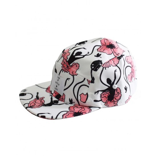 Rad Little Life Floral 5 Panel Cap - RLL0103