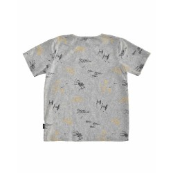 Radicool Dude FOUND IN SPACE TEE -  Grey