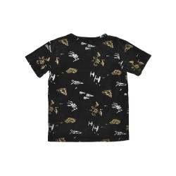 Radicool Dude LOST IN SPACE TEE -  Black - RD1200    ***  Size 7  ***