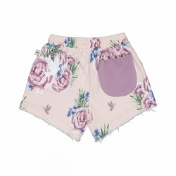 Kissed by Radicool BOUQUET DENIM SHORTS
