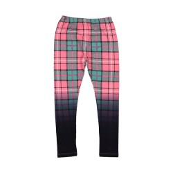 Kissed by Radicool | Dip Dye Plaid Legging