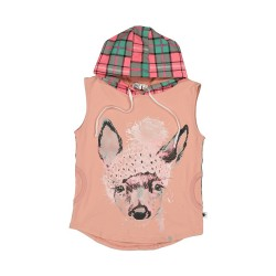 Kissed by Radicool | Fawn Plaid S/S Hood