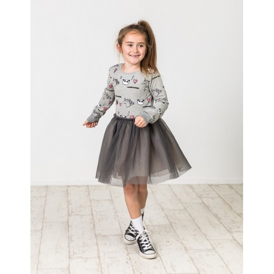 Kissed by Radicool | Unicorn Panda Tutu Dress