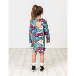 Kissed by Radicool | Winter Floral Heart Dress