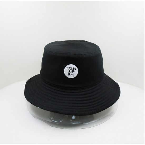 Rad Tribe | Reversible Bucket Hat - Black Logo