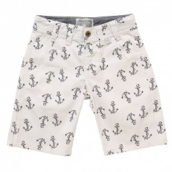 Rockin Baby Herbie Anchor  Print Shorts