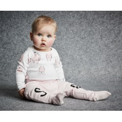 SOOKIbaby Footed Legging Delicate Pink   ***  Size 0  and 1y  ***