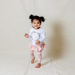 Tiny Tribe | Branch Frill Legging