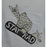 Triangle Stay Rad Yeti L/S Tee