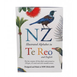 ABC Frieze  - Te Reo - Alphabet  by Tanya Wolfkamp
